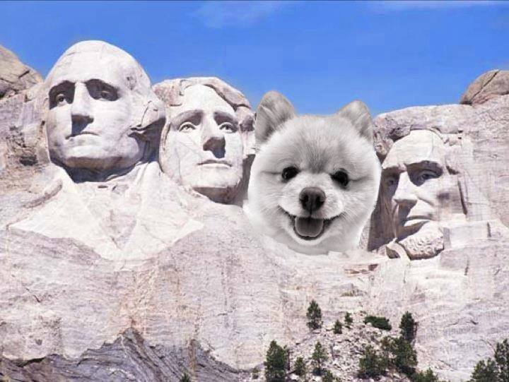 In observance of Presidents Day