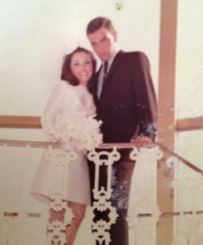 Happy Throwback Thursday to my parents in 1967